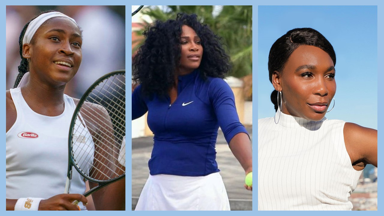 How have the Williams sisters inspired teen sensation Coco Guaff