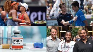Top tennis stars and their stance on getting vaccinated
