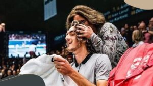 Tsitsipas' mother Julia Salnikova is all praise for her son