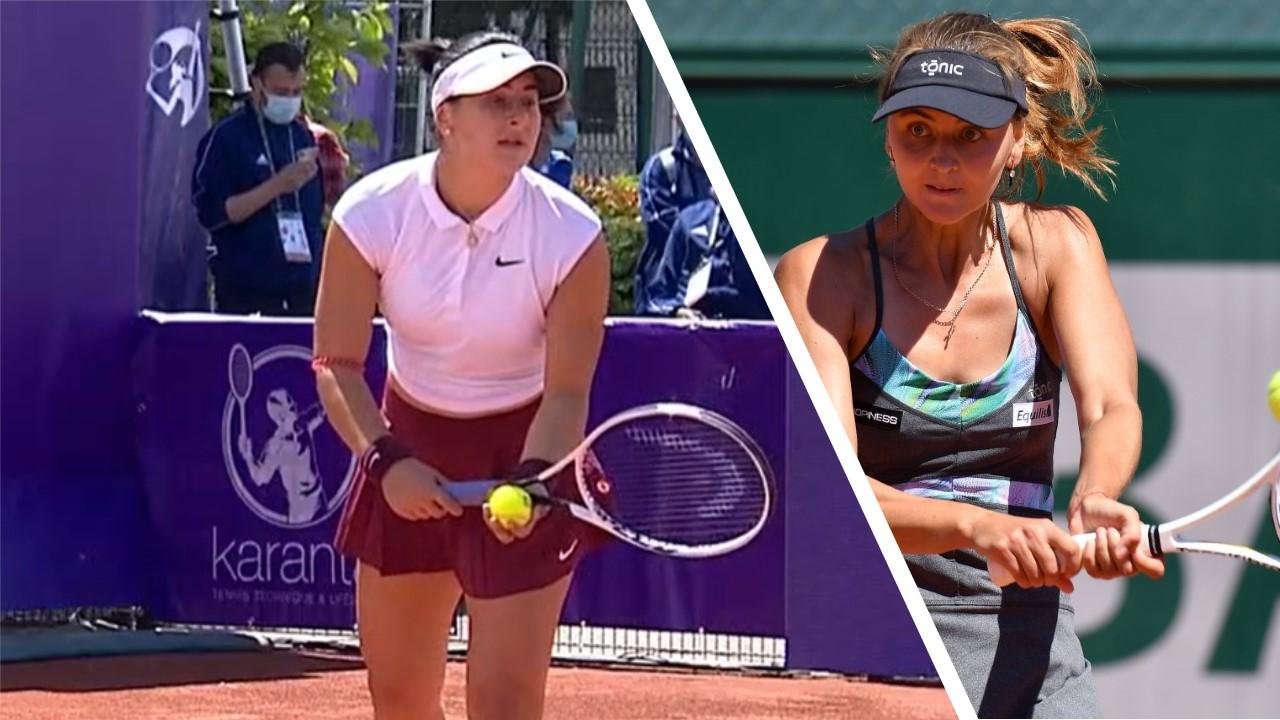 Bianca Andreescu vs Maryna Zanevska Strasbourg 2021 Preview