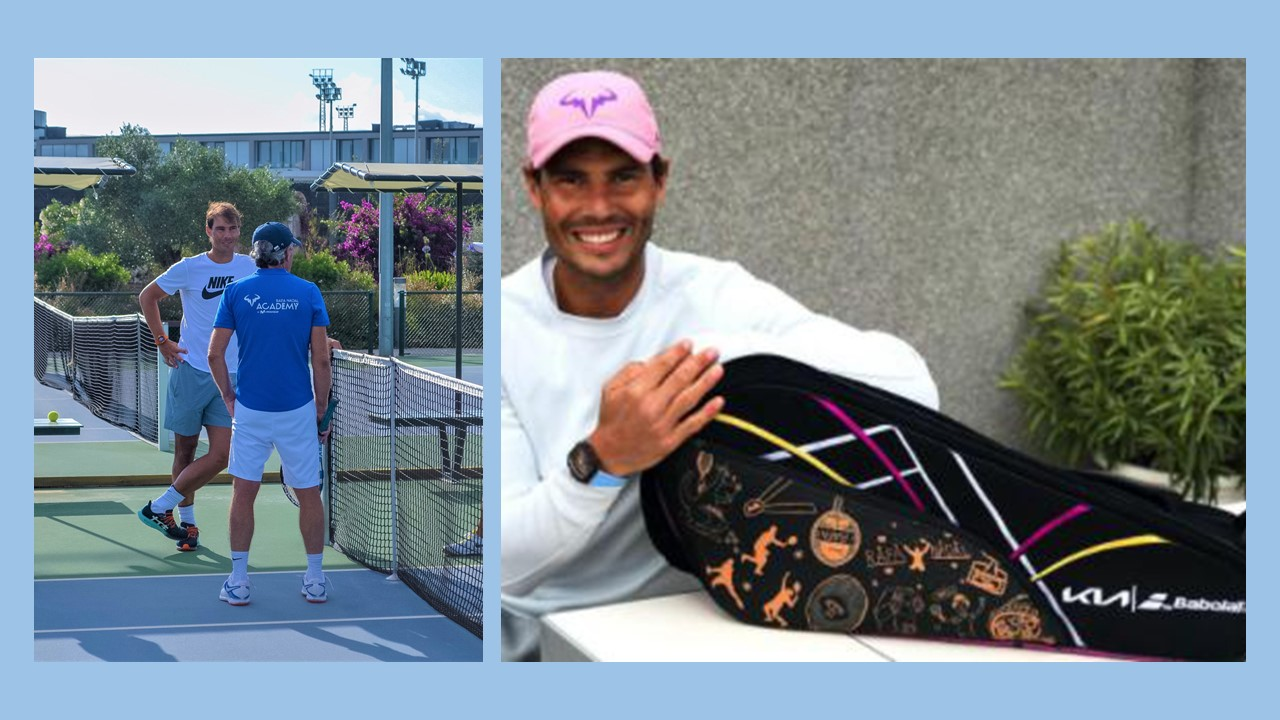 Nadal Limited Edition Kia Babolat Eco Friendly Bag Unveiled