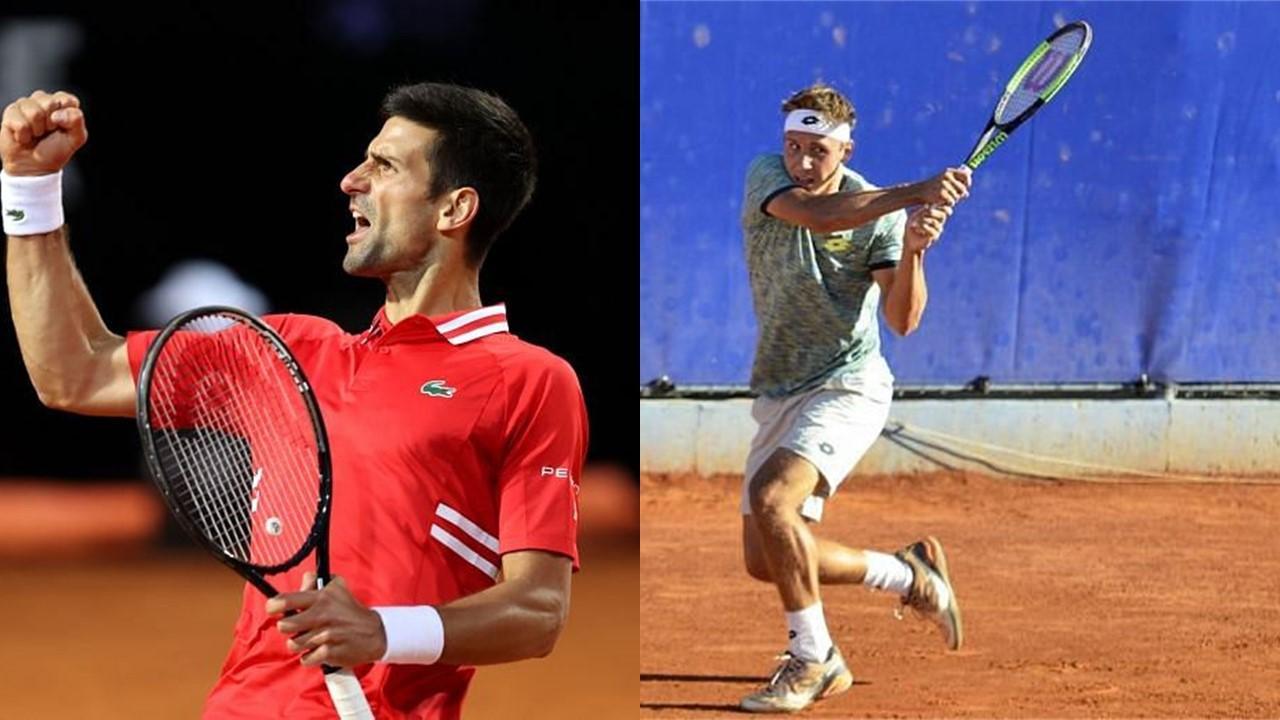 Novak Djokovic vs Alex Molcan Belgrade 2021