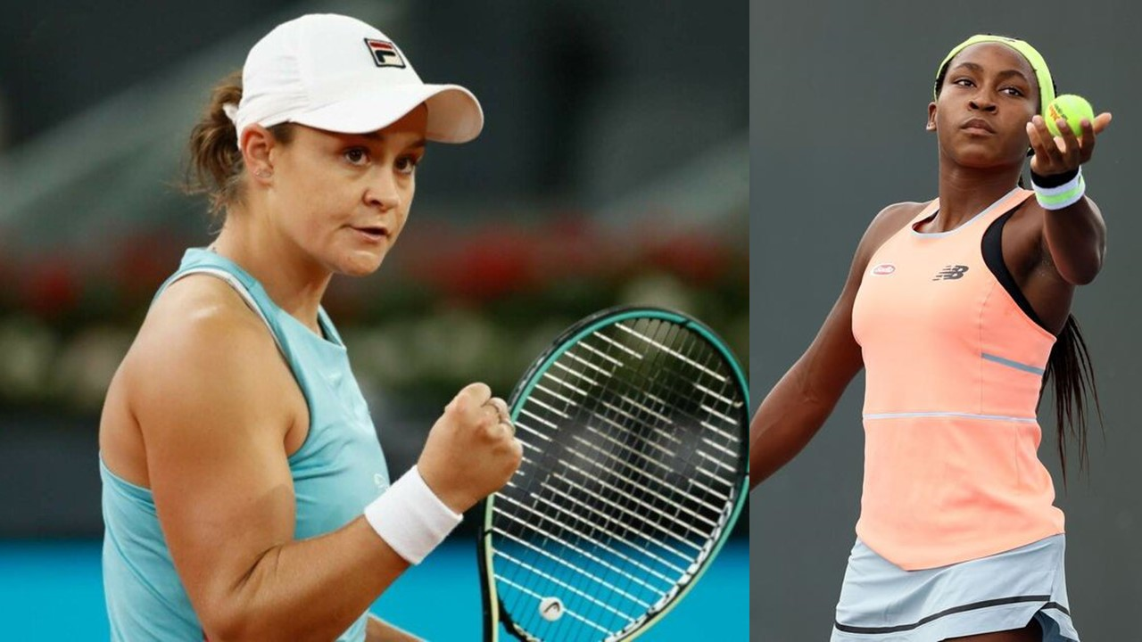 Teenage meets Experience as Coco Gauff and Barty Lock Horns