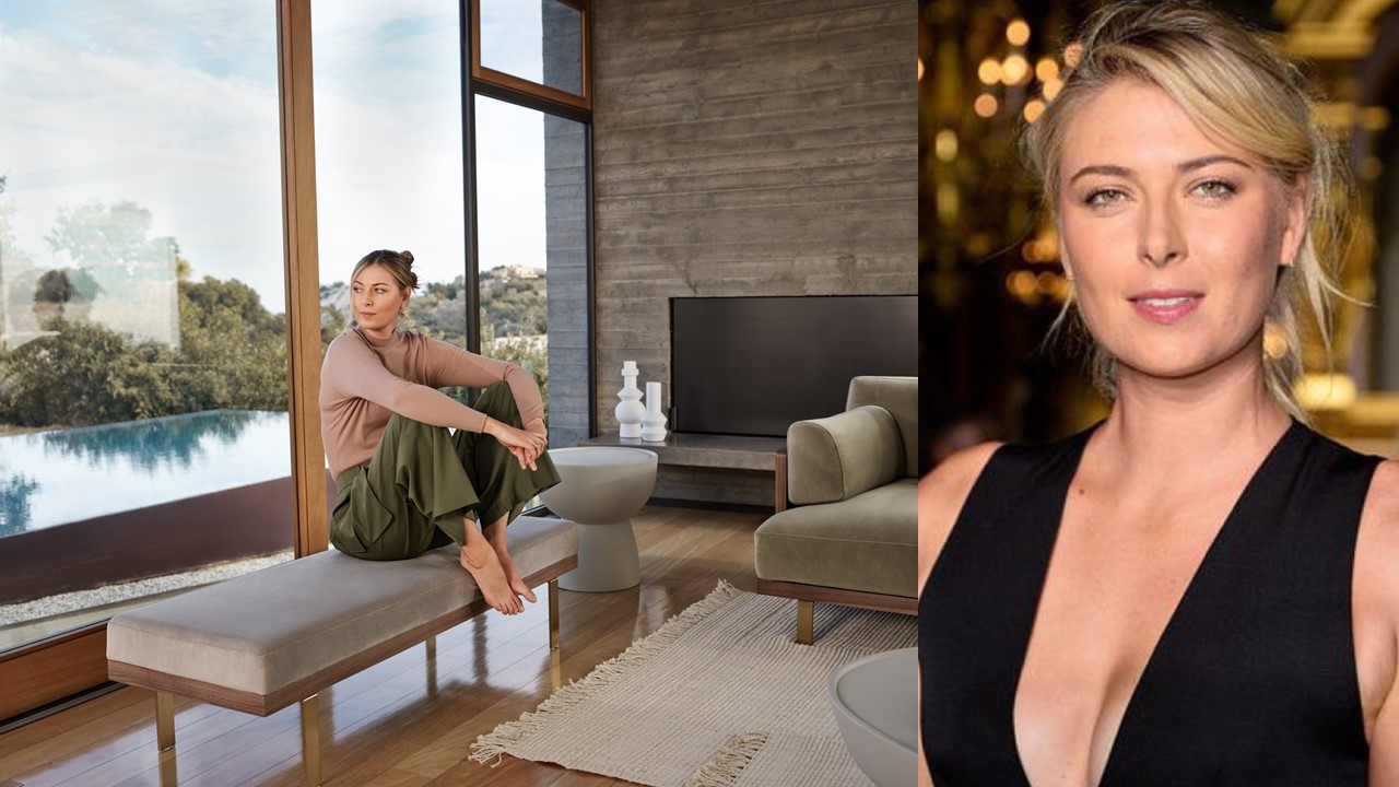Is Maria Sharapova the most photogenic tennis player of all time