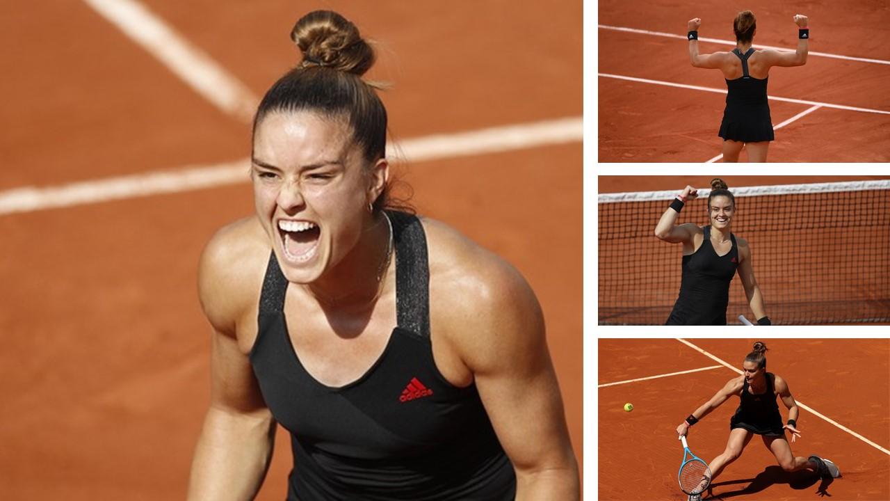 Maria Sakkari created Greek history in Paris at Roland Garros