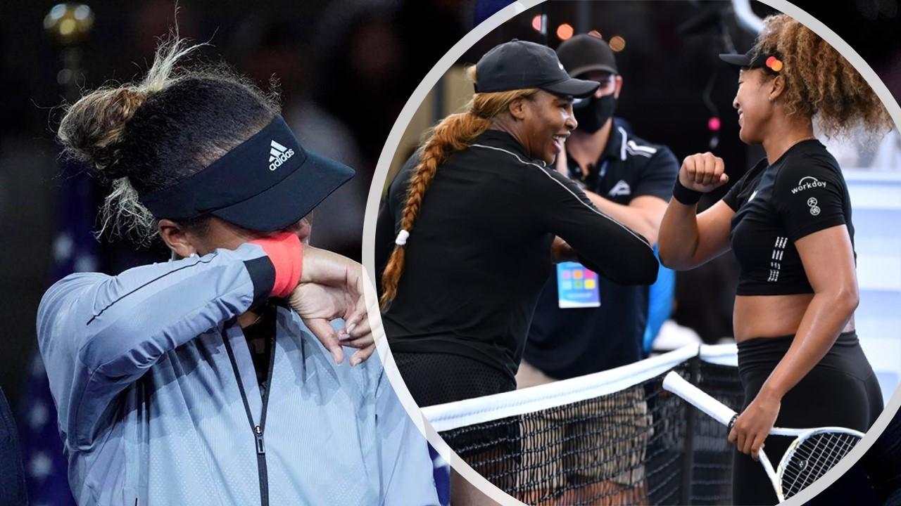 Serena Williams feels for Naomi Osaka