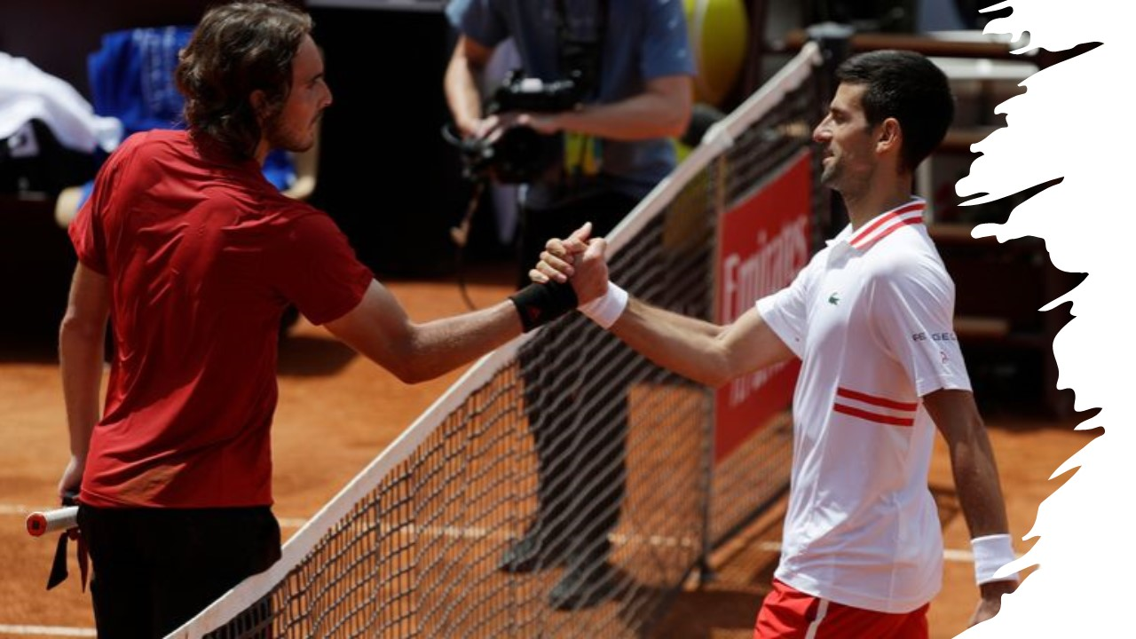 Stefanos Tsitsipas and Novak Djokovic chasing their own piece of history in Sunday's final
