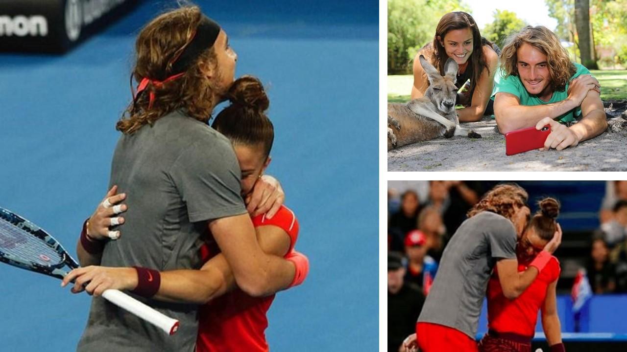 While Sakkari & Tsitsipas make Greek fans proud in Paris rumours emerge about thier romance