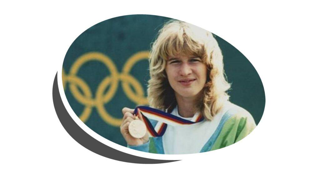 Steffi Graf 1988 Olympics