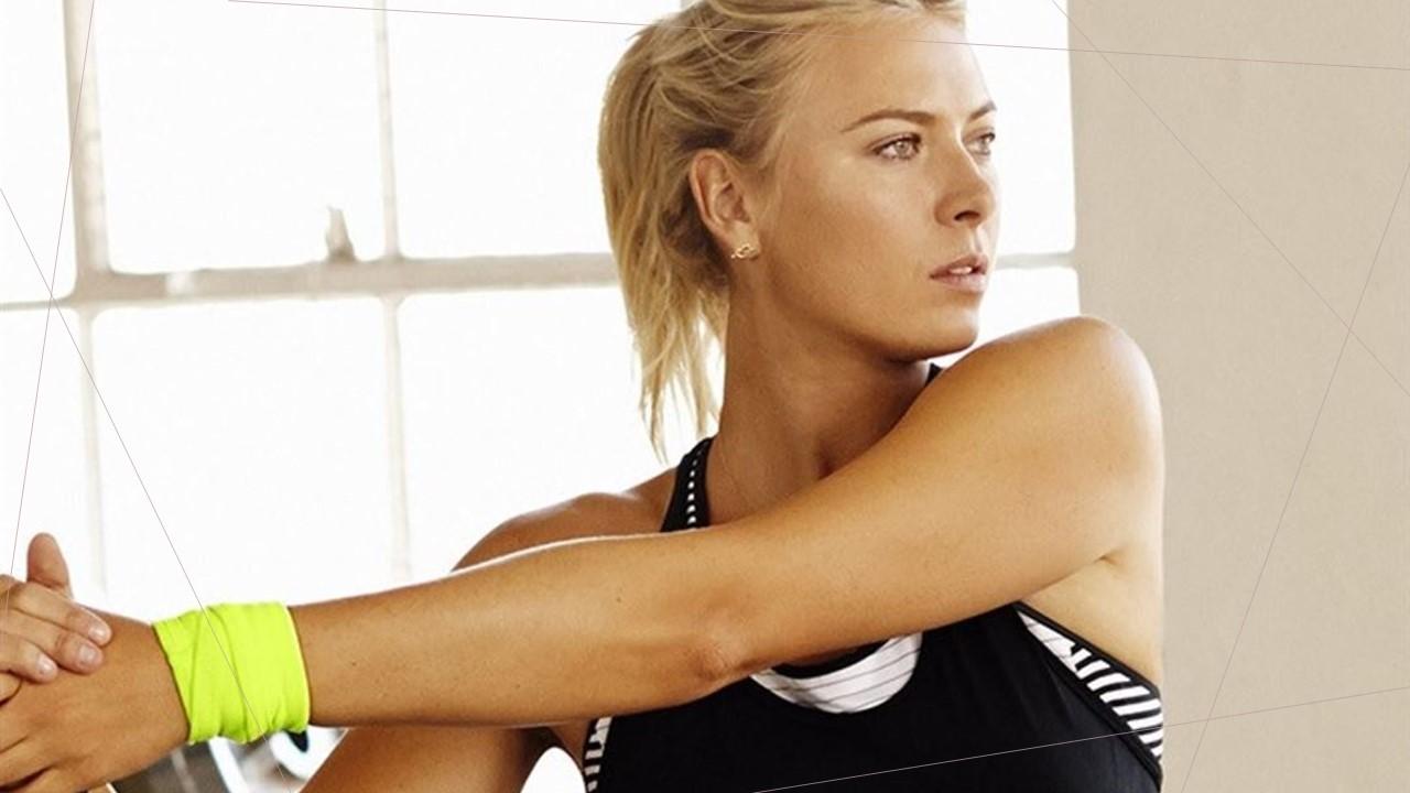 Maria Sharapova Motivational Home Training Video