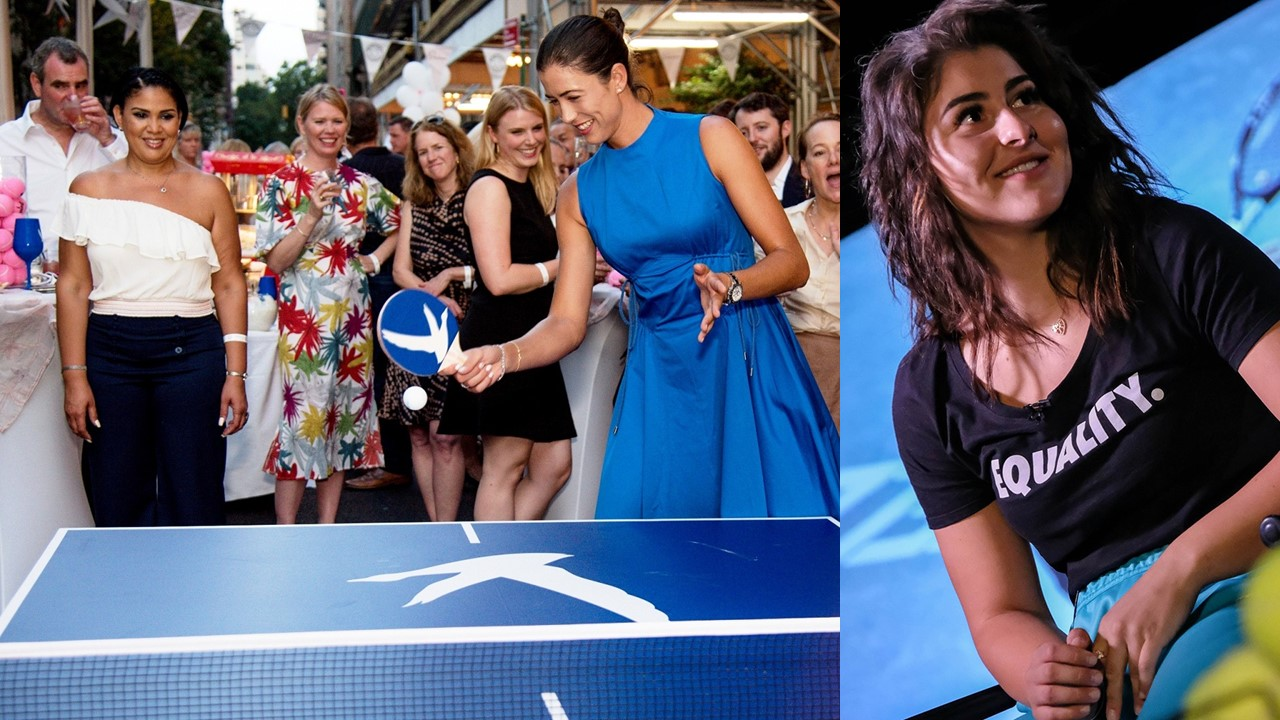 Muguruza and Andreescu Celebrate the Tennis Season in New York