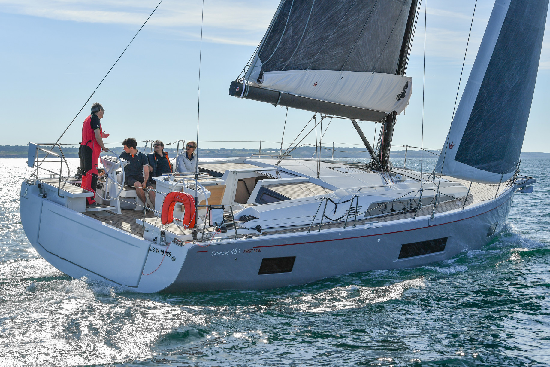 Demo day sail was a hit!