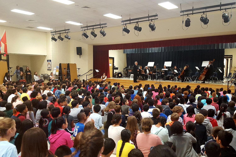 Wilson Creek Elementary School and Johns Creek Symphony Orchestra