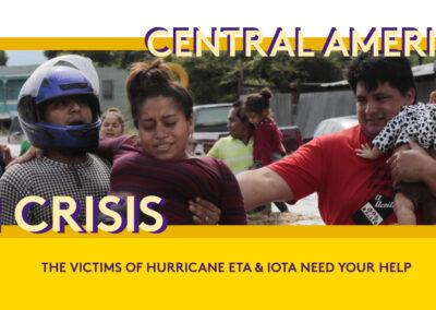 THE VICTIMS OF HURRICANES IOTA & ETA NEED YOUR HELP
