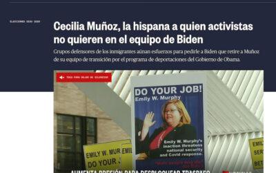 Cecilia Muñoz, la hispana a quien activistas no quieren en el equipo de Biden