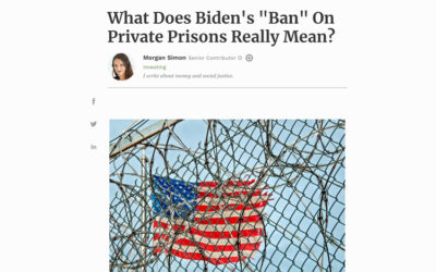 """What Does Biden's """"Ban"""" On Private Prisons Really Mean?"""
