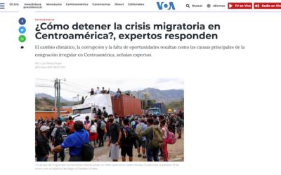 ¿Cómo detener la crisis migratoria en Centroamérica?, expertos responden