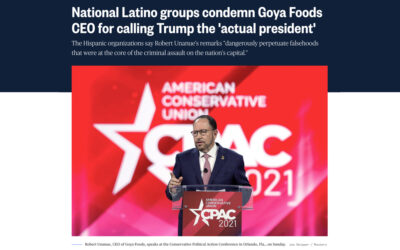 National Latino groups condemn Goya Foods CEO for calling Trump the 'actual president'