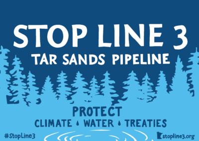 Tell President Biden: #StopLine3 pipeline