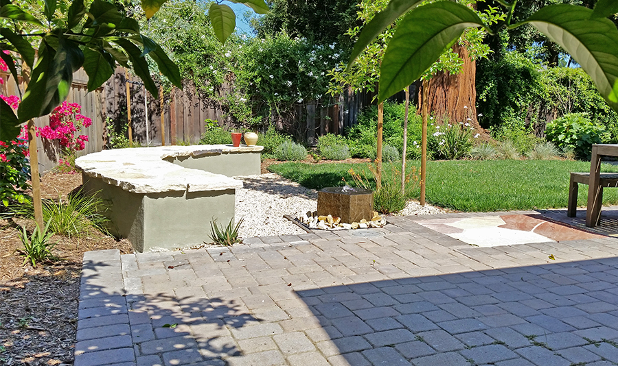 Backyard makeover in Palo Altoo