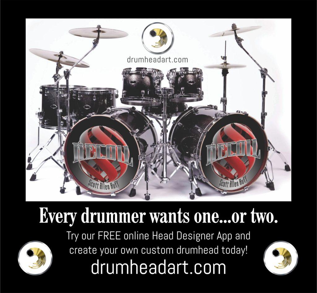 Drumhead Ard poster ad - recoil dbl kick