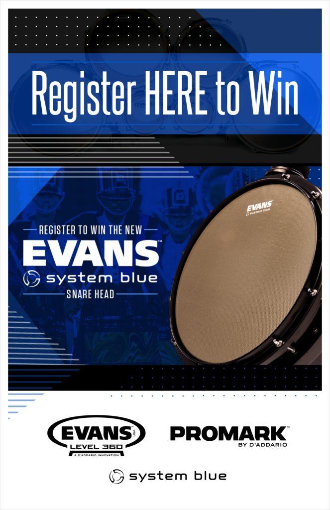Evans System Blue 11 x 17 contest poster
