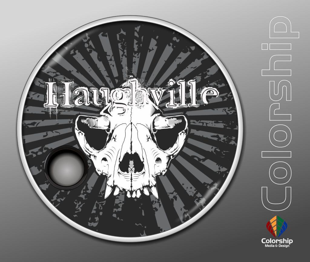 Haughville - Drumhead vector 2017 new