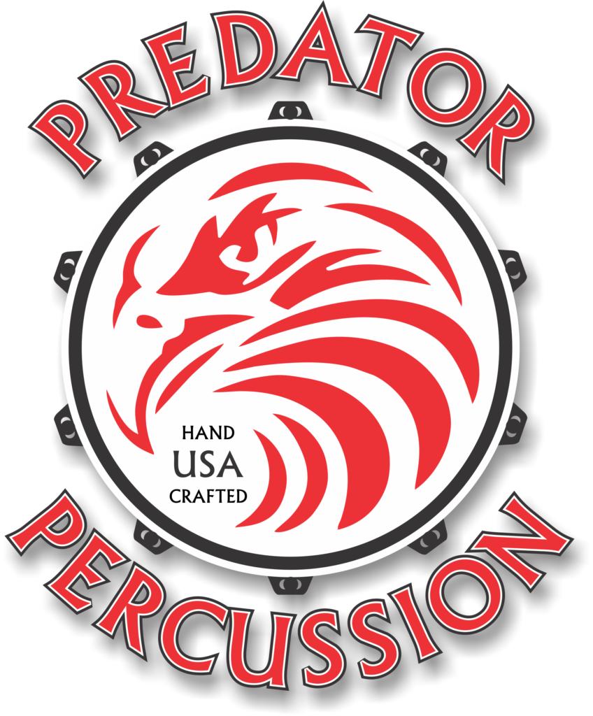 Predator logo - full color drop shadow no background