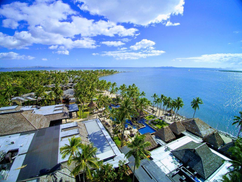 The Westin Denarau Island Aerial Shot - Fiji