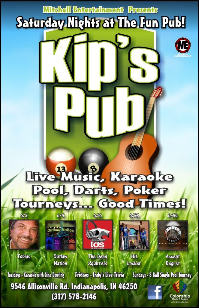 kip's pub poster June 2018