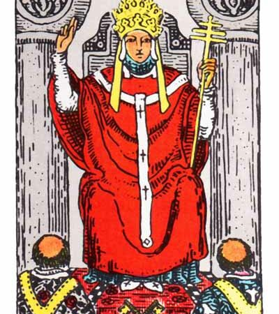 The Hierophant Card