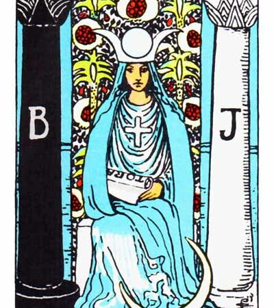 The High Priestess Card