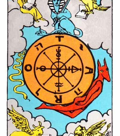 The Wheel of Fortune Card