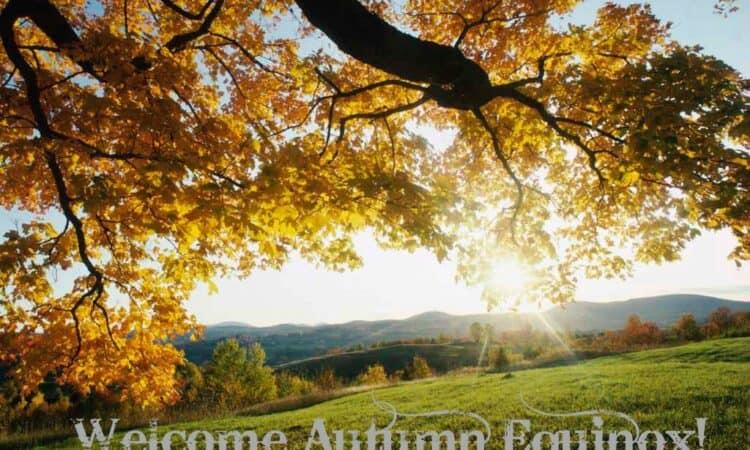 September 22 - Autumn Equinox
