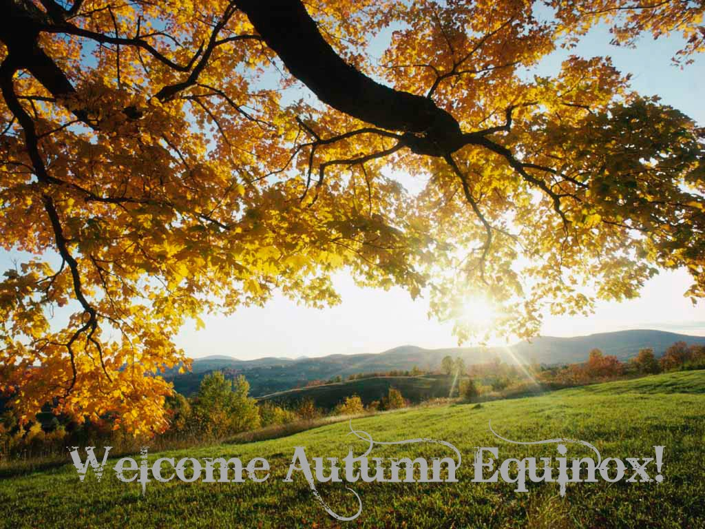 September 22 - Autumn Equinox