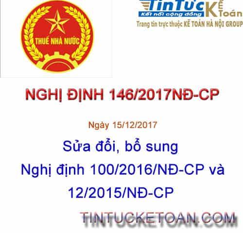 146/2017/NĐ-CP