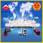 Những trường hợp xuất khẩu hàng hóa không cần mở tờ khai hải quan