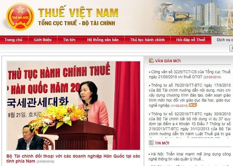 Các trang web hữu ích dân kế toán nhất định phải biết - dgt.gov.vn