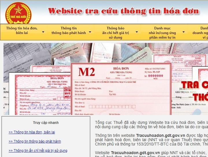 Các trang web hữu ích dân kế toán nhất định phải biết - tracuuhoadon.gdt.gov.vn