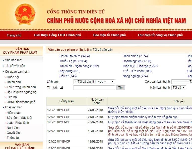 Các trang web hữu ích dân kế toán nhất định phải biết - cập nhật các văn bản pháp luật mới nhất