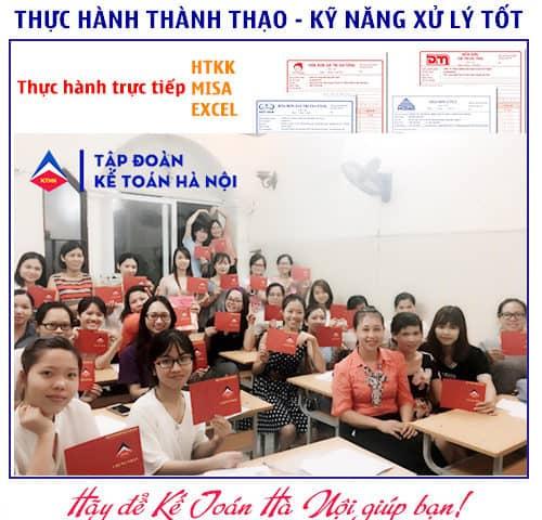 Trung tâm đào tạo kế toán thực tế tại Tp HCM CHẤT LƯỢNG
