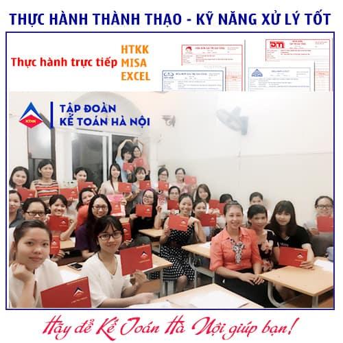 Khóa học kế toán tổng hợp tại Thanh Xuân Hà Nội
