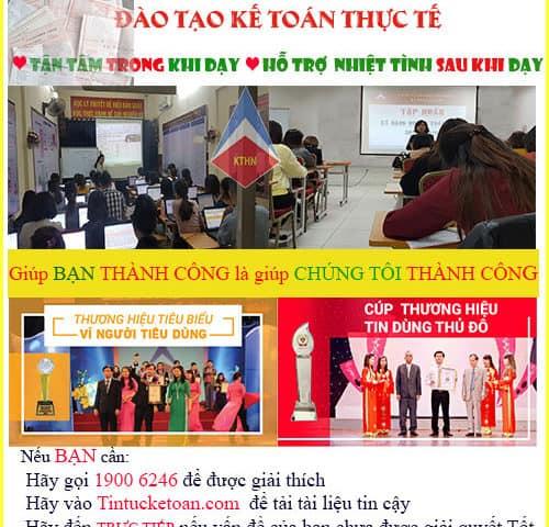 Học kế toán ở đâu tốt nhất ở Hà Nội