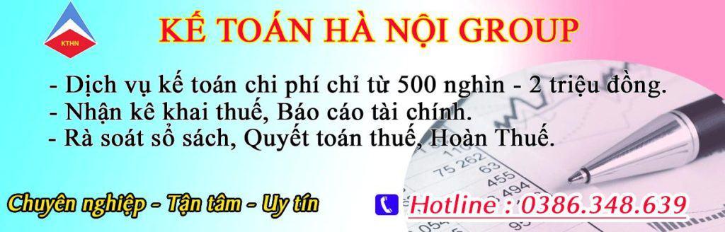 Dịch vụ kế toán thuế trọn gói tại Hà Đông Hà Nội