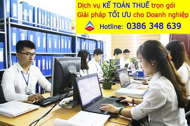 dịch vụ kế toán trọn gói tại Phong Khê Bắc Ninh