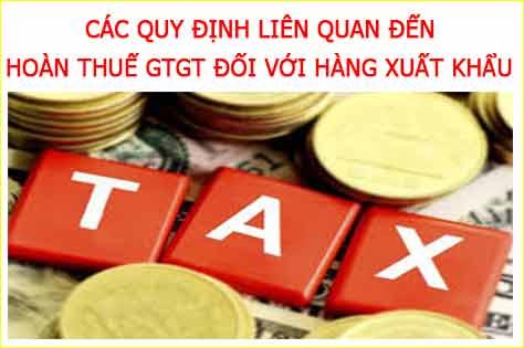 Hoàn thuế GTGT đối với hàng hóa xuất khẩu