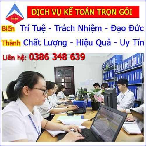 Dịch vụ kế toán thuế trọn gói tại Hà Nam