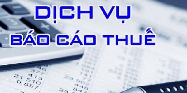 Nhận làm báo cáo thuế tại Bắc Giang