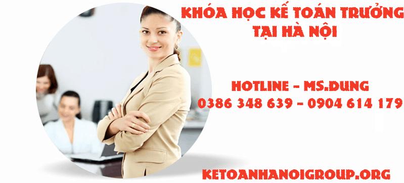 Khóa học kế toán trưởng tại Hà Nội