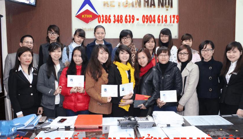 Trung tâm đào tạo kế toán thực tế tại Khắc Niệm CHẤT LƯỢNG CAO